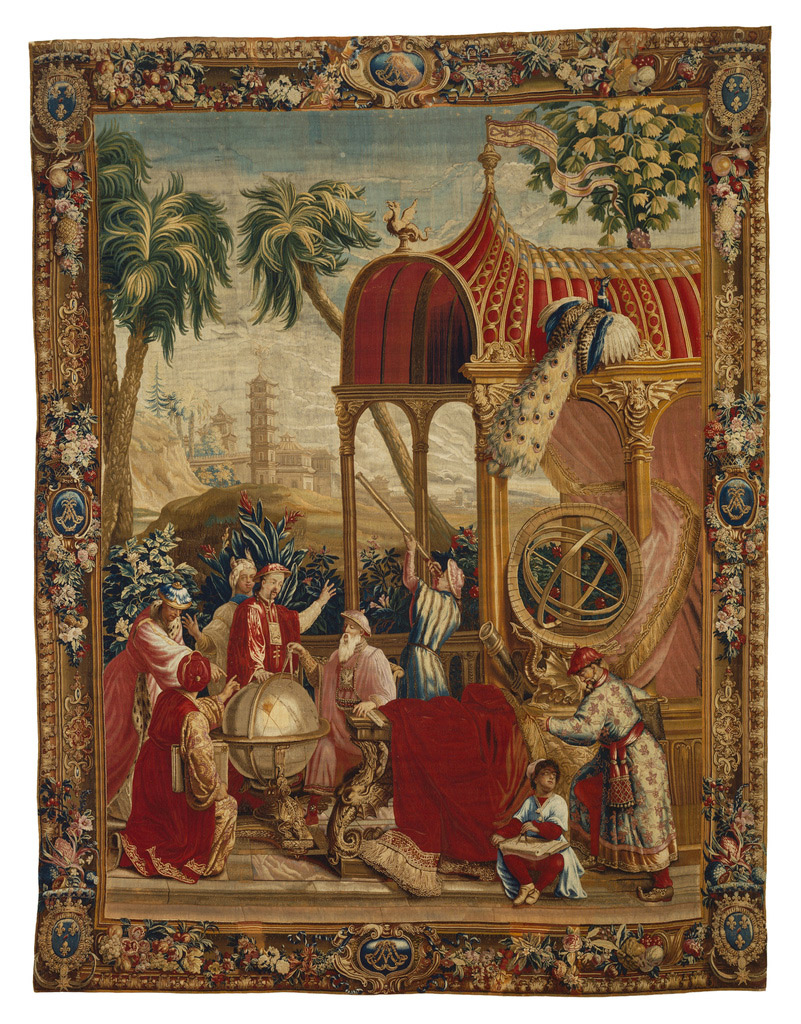 Tapestry: The Astronomers from The Story of the Emperor of China_801_W