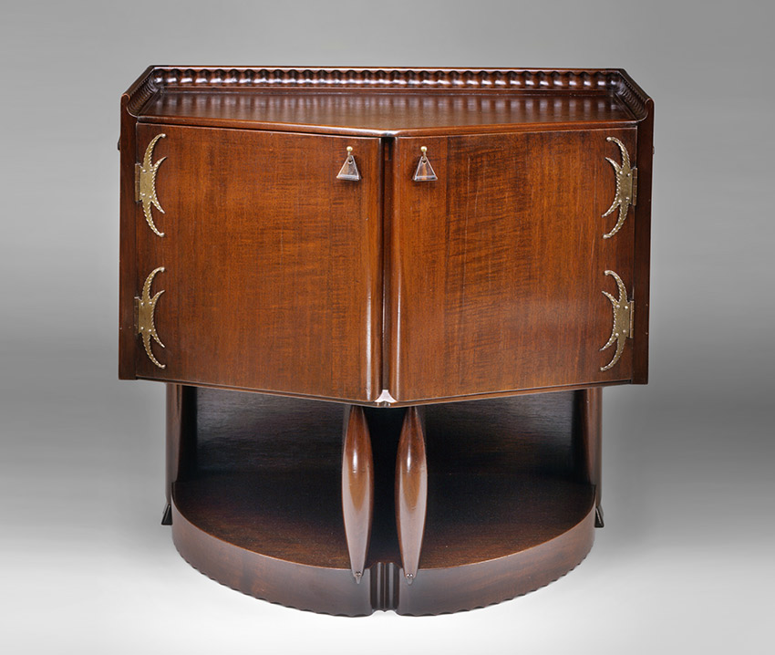 B__Tea cabinet, 1916. Michel De Klerk -Dutch, 1884–1923- 't Woonhuys, Amsterdam, maker_850 W