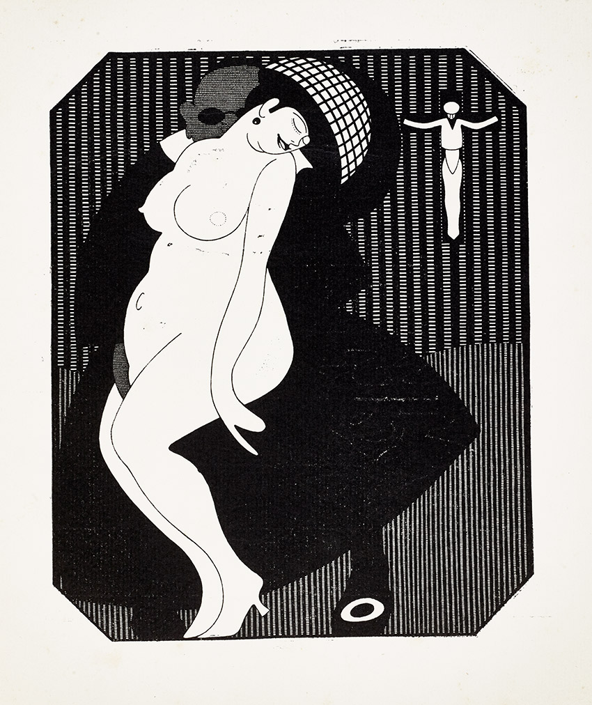 E__Illustration, from Sodom Ein Spiel -Sodom A Play, 1909 Julius Klinger_850 W