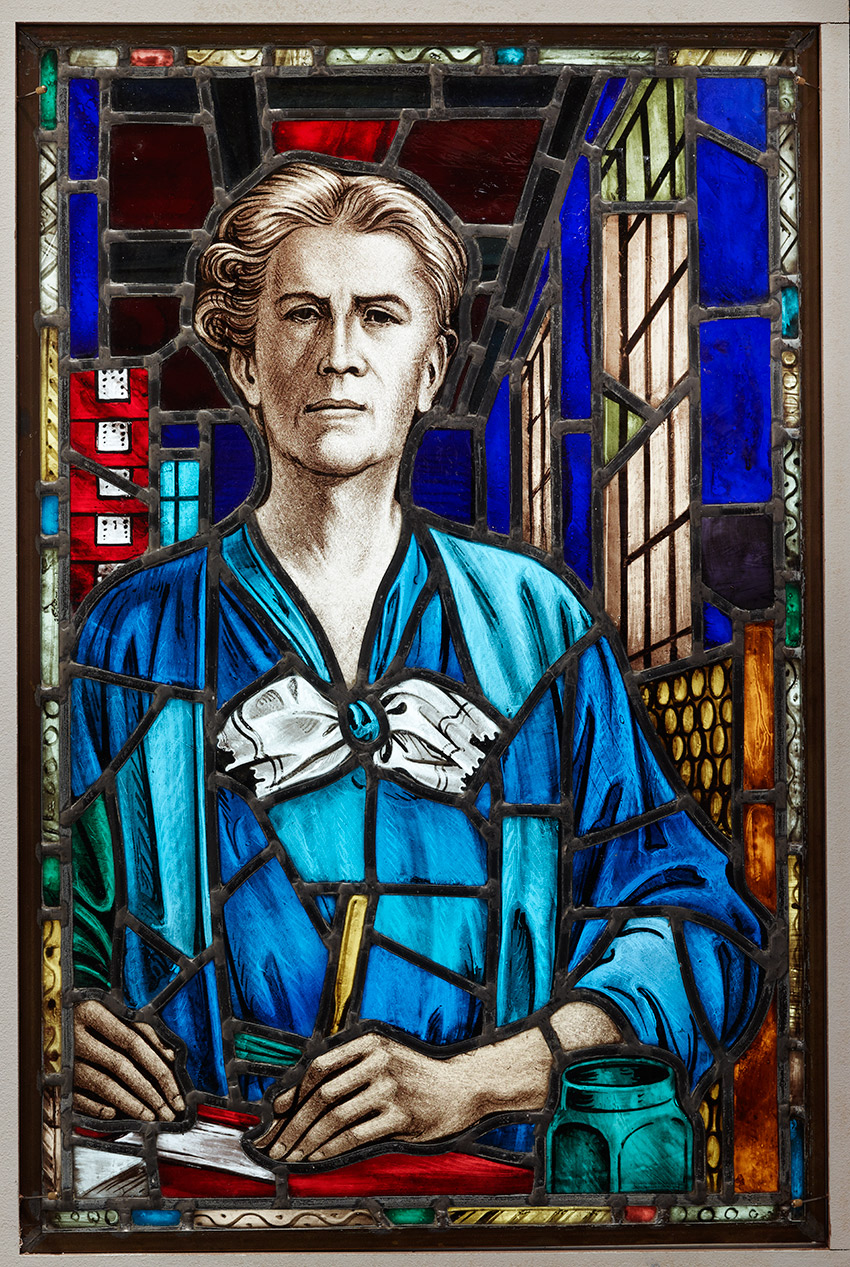 E__Stained‐glass window, Elizabeth Parent, 1936_850 W