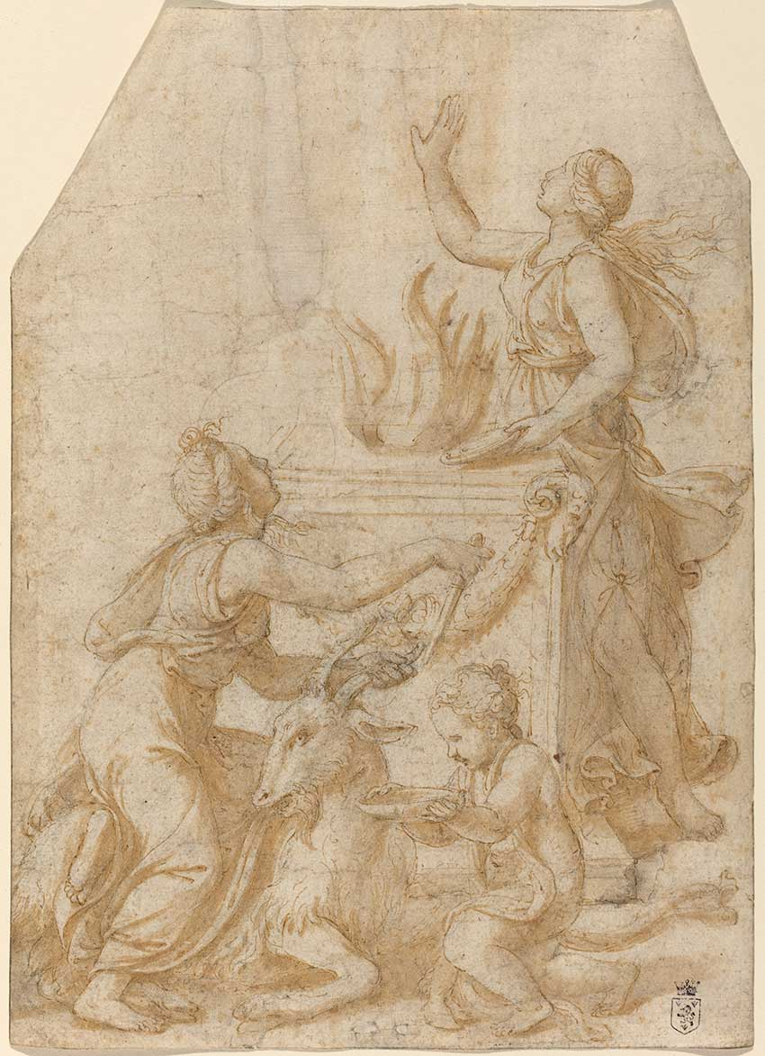 Giulio-Romano_he-Sacrifice-of-a-Goat-to-Jupiter,-c