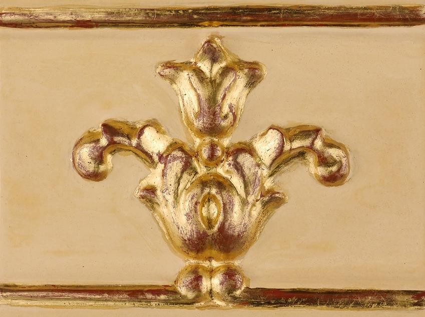 Golden Porter oro acabado pigmento amarillo