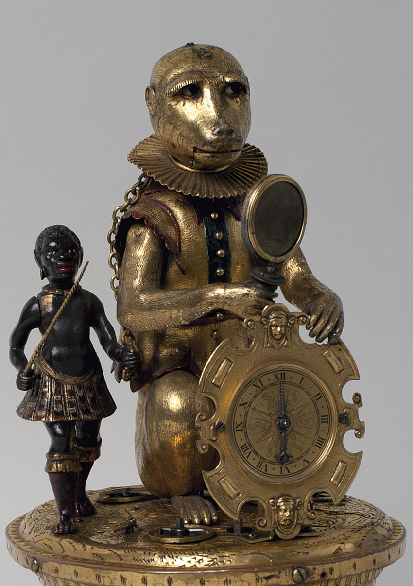 16_El Mono. Circa 1580-1590, manufactura de Nuremberg Medidas 30,5 x 25 x 22 cm. Nº Inv. P.O. 219