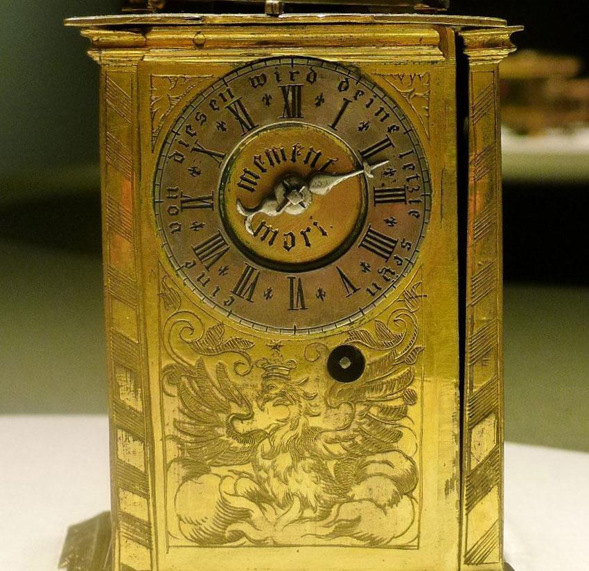 33_Reloj Torre del siglo XVIby David Buschman Medidas 16.5 x 9 cm. N Inv. PO 027