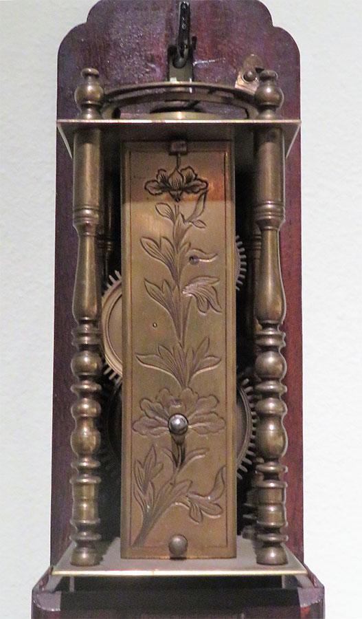 37_Maquina de Reloj japones del periodo Edo Finales del S. XVIII. Nº Inv. R.A. 301