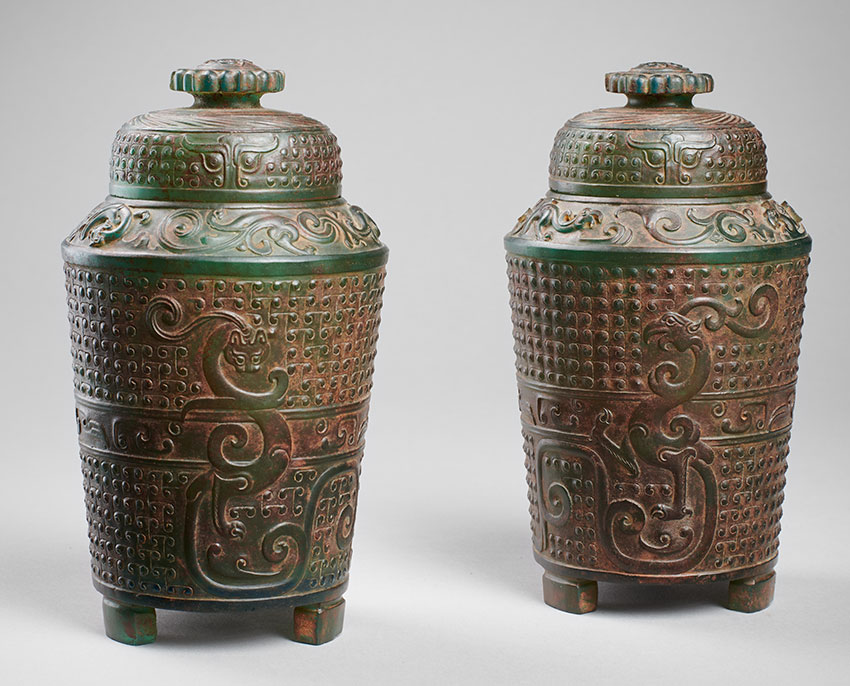 8.-FILIPPO-SALVIATI-Chapter_Pair-of-covered-jars_-glass_Han-dynasty_-17.1-×-10.4-cm_page-84_850_W
