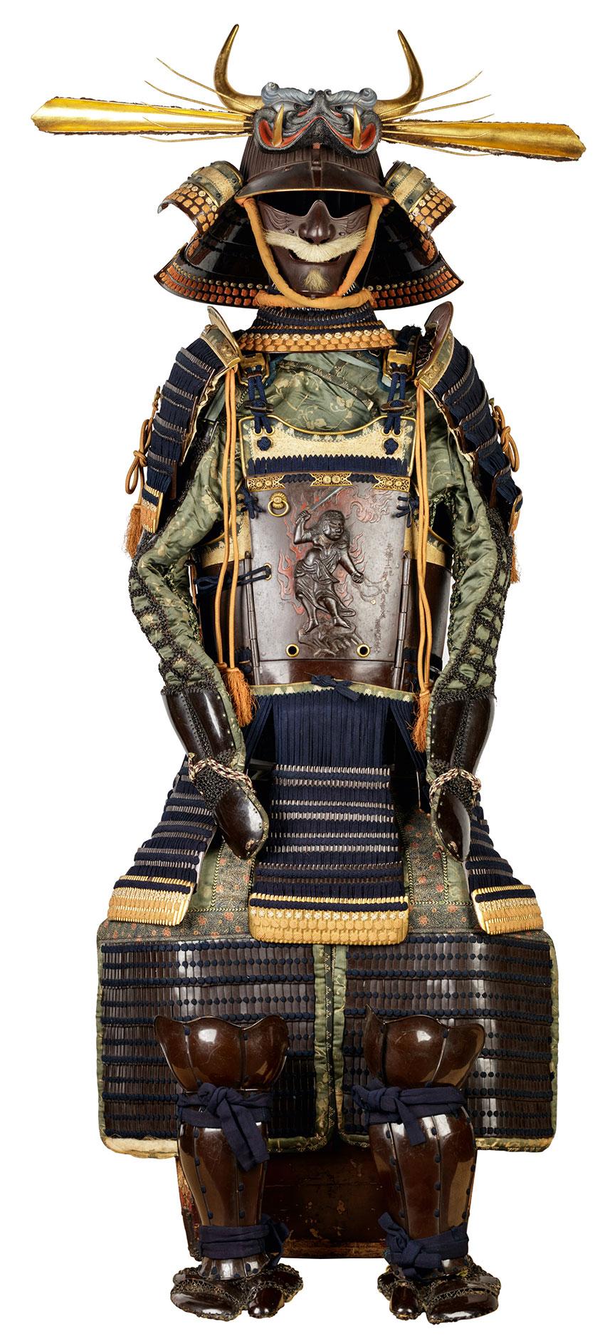 Myōchin Munesuke- 1688-1735- Samurai armour-