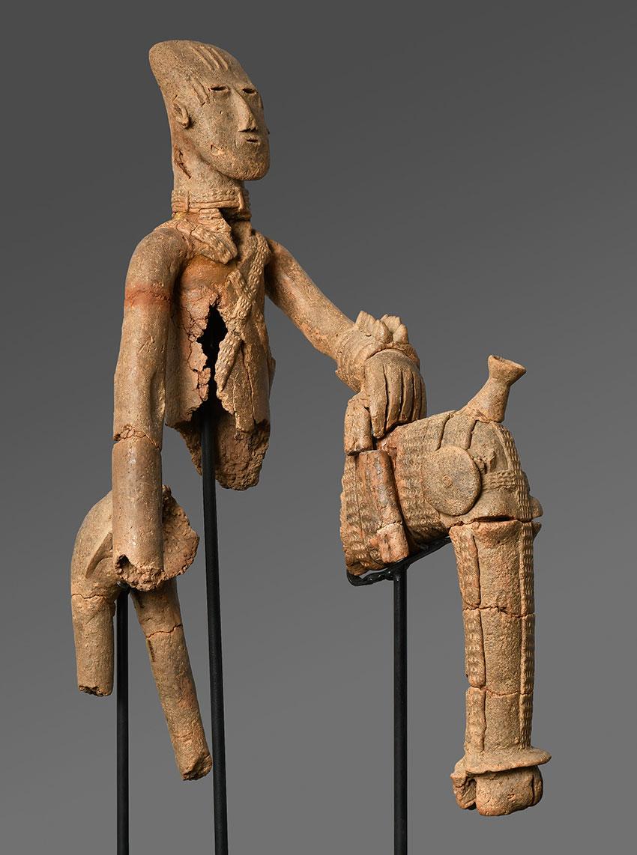 Equestrian. Bura-Asinda-Sikka Site, Niger. 3rd–10th century_African Art