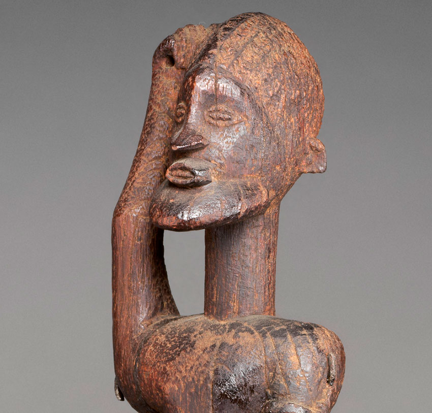 Equestrian. Mali, Dogon peoples. 16th–18th century. Wood_detail 1_African Art