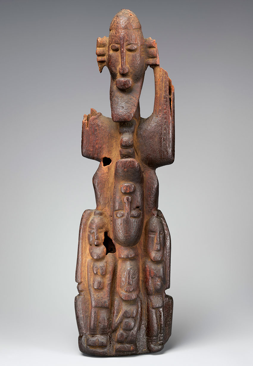 Figure Group. Mali, Soninke or Dogon peoples. 16th–19th century. Wood_African Art