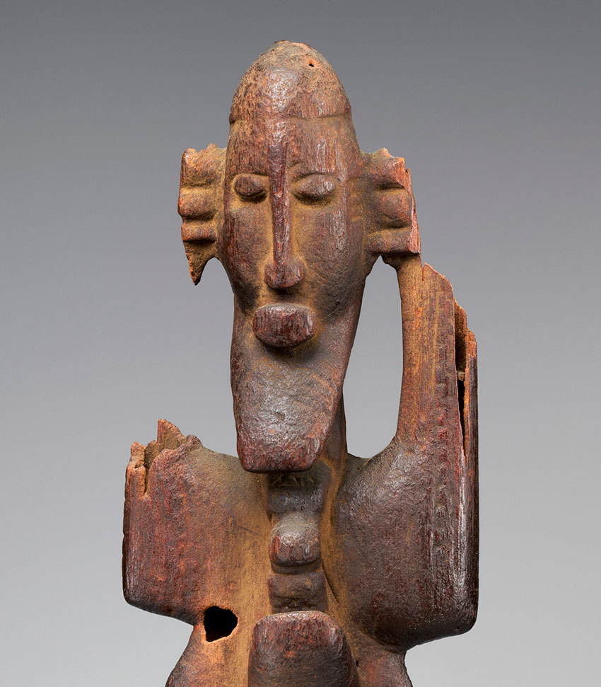 Figure Group. Mali, Soninke or Dogon peoples. 16th–19th century. Wood_Detail 1_African Art