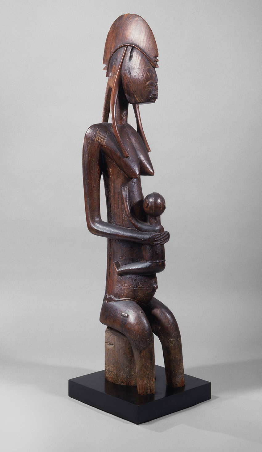 Mother and Child. Mali, Bamana peoples. 15th–early 20th century. Wood_African Art