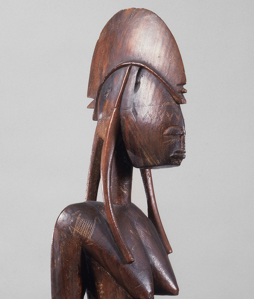 Mother and Child. Mali, Bamana peoples. 15th–early 20th century. Wood_detail 1_African Art