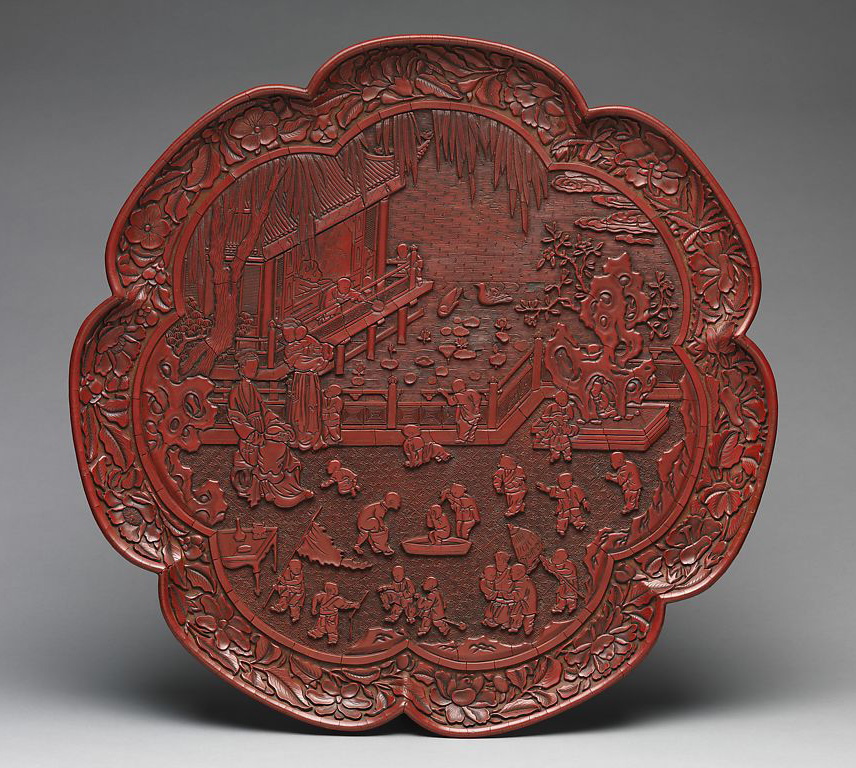 Children-to-Inmortals_MET-Museum_ Tray with women and boys on a garden terrace- Yuan dynasty-1271–1368-_850