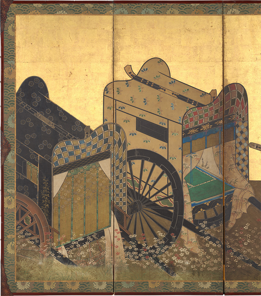 MET-Museum_-Kyoto-Imperial-Carts-Screen_-mid-17th-century_DP-17329-001_Detail-2_850-W