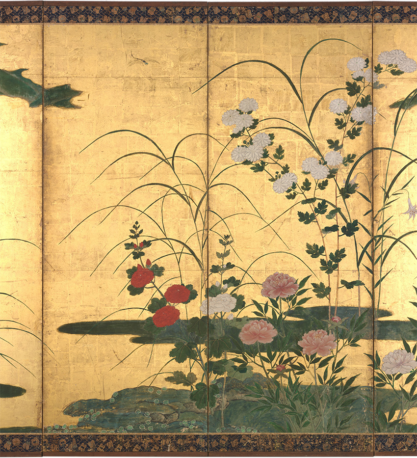 MET-Museum_-Kyoto_Flowers-and-Grasses-of-the-Four-Seasons-late_16th-century_Detail-2_DP704902