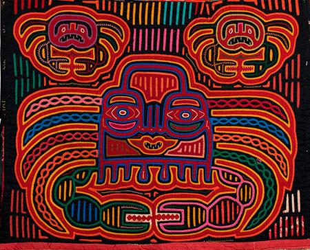 Mola Textiles of Panama_450-W