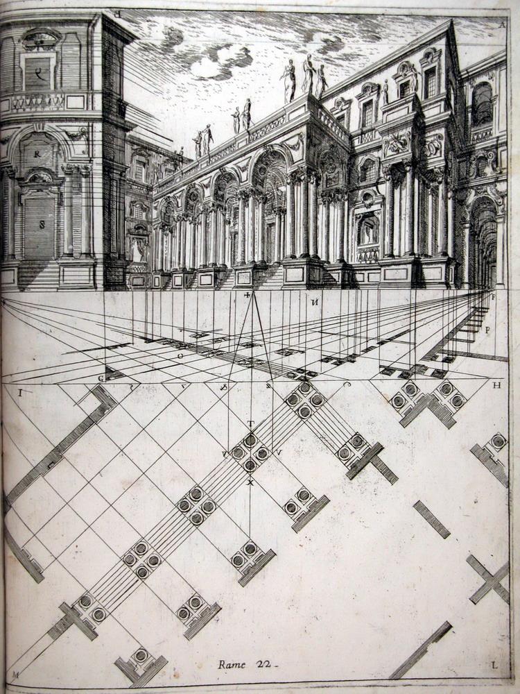 Ferdinando Galli Bibiena, Operation 67 Per designare le scxene per angolo